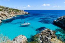Sailing Boat At Anchor. Paradi...