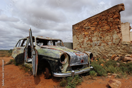Fotografie, Obraz  Ghost Town Outback Australia