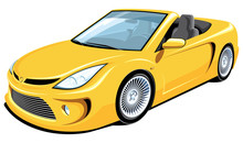 Vector Isolated Yellow Convert...