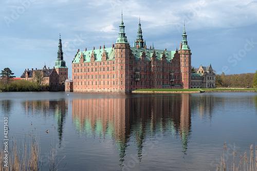Photo  Frederiksborg palace in Hillerod, Denmark