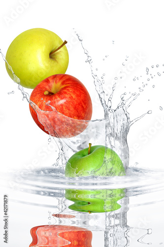 Foto op Canvas Opspattend water Obst 328