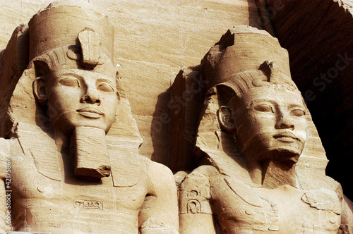Fotografie, Obraz  The Great Temple of Abu Simbel