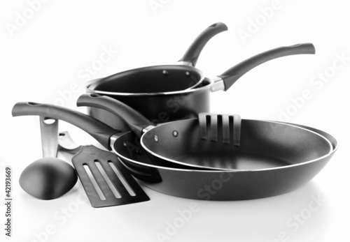 Fotografie, Obraz  set kitchen utensils