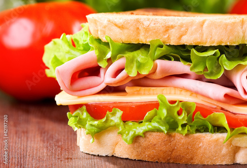 In de dag Snack sandwich