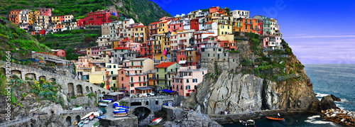 Photo sur Toile Lilas bella Italia series - Monarolla, Cinque terre