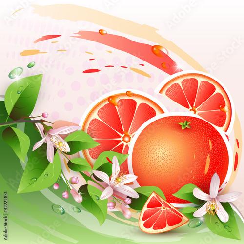 abstrakcjonistyczny-tlo-z-swiezym-grapefruitowym