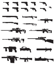 Big Weapons Silhouette Pack