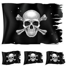 Three Types Of Pirate Flag