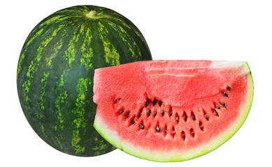 watermellon and slice
