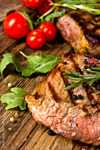 Papiers peints Steakhouse Grilled beef steak