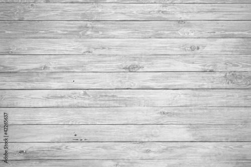 Wallpaper Mural White Wood Background