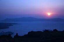 Sunset Over The Calder At Sant...