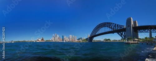 Staande foto Sydney Sydney Harbour Skyline Panorama