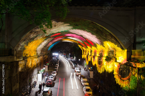 Canvas Prints Sydney Vivid Sydney Tunnel