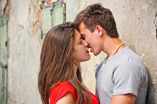 Fotografija Couple kissing