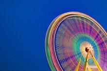 Circular Carousel Background.