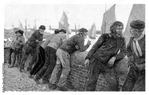 Fototapeta Old Sailors - Vieux Marins - Seemänner
