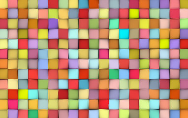 abstract tile pattern mixed color surface backdrop