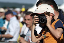 Jeune Enfant Photographe