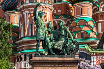 Fototapeta na wymiar Minin and Pozharsky