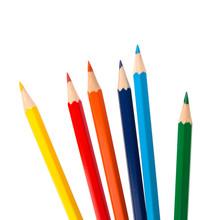 Colouring Crayon Pencils Bunch