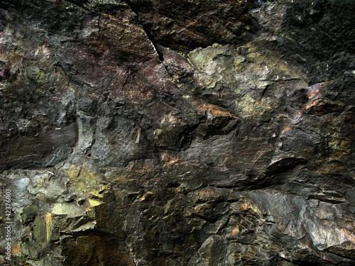 Dark texture Ural stone Fototapeta