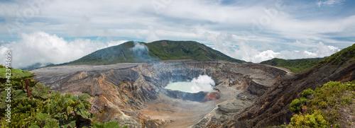 Tematy plakatów panoramiczny-widok-poas-volcano-2012