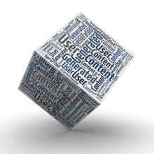 UGC User Generated Content - Würfel / Cube