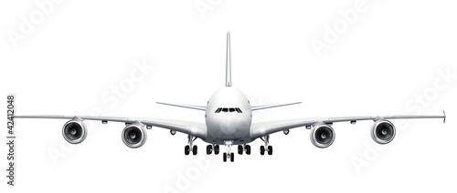 Fotografia  Grosser Jumbojet  - freigestellt