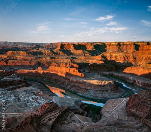 Photo sur Toile Gris traffic Dead Horse Point canyon