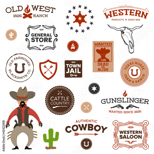 Photo  Old western designs