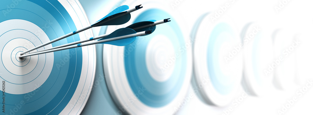 Fototapety, obrazy: competitive advantage, strategic marketing concept