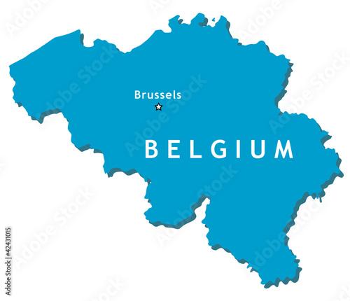Belgien Karte Umriss.Belgium Vector Map Kaufen Sie Diese Vektorgrafik Und Finden Sie