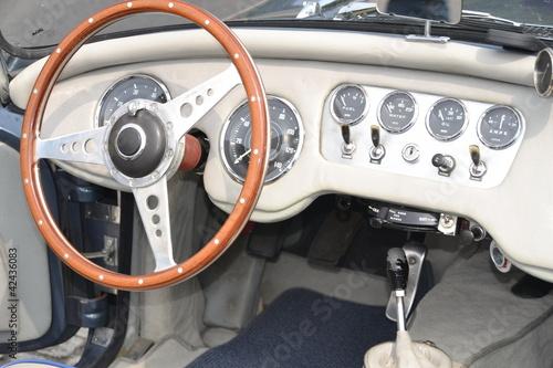 Keuken foto achterwand Vintage cars Oldtimer, innen
