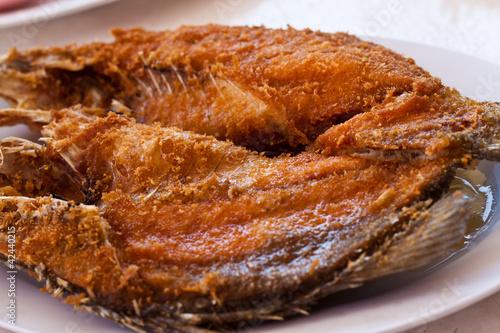 Papiers peints Steakhouse fried fish