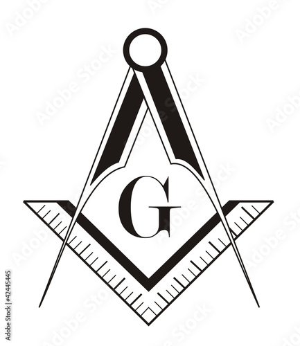 freemason symbol Canvas Print
