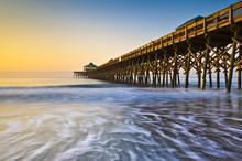 Folly Beach Pier Charleston SC...