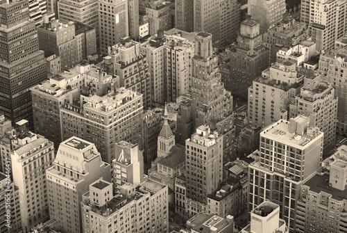 nowy-jork-manhattan-linii-horyzontu-widok-z-lotu-ptaka-czarny-i-bialy