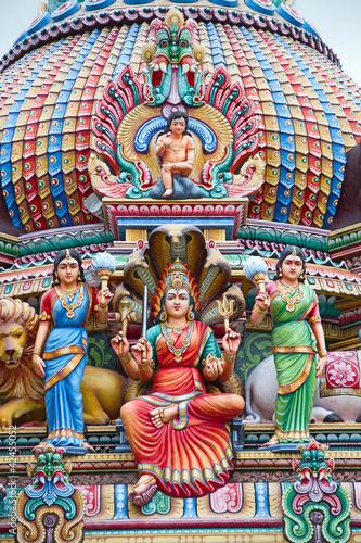 Photo  Hindu temple in Singapore
