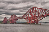 Fototapeta Most - Firth of Forth Bridge, Scotland, United Kingdom