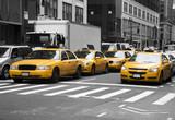 Fototapeta  - New York Cabs