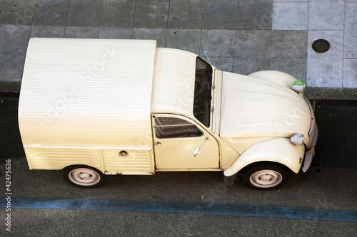 Canvas Citroen 2CV Van