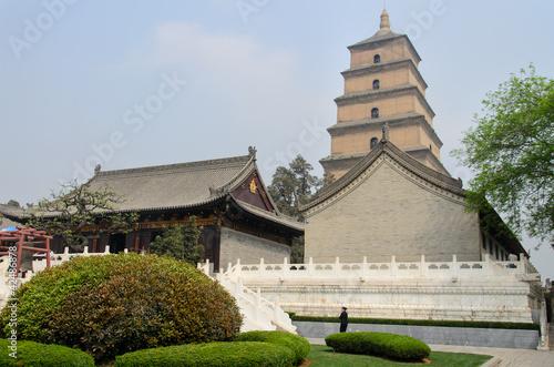 Foto op Plexiglas Xian Xi'an - Große Wildgans Pagode