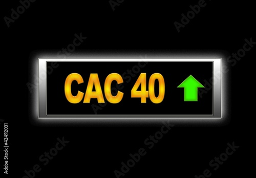 Cac 40 Positive