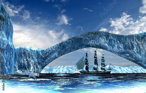 Papiers peints Arctique Arctic adventure