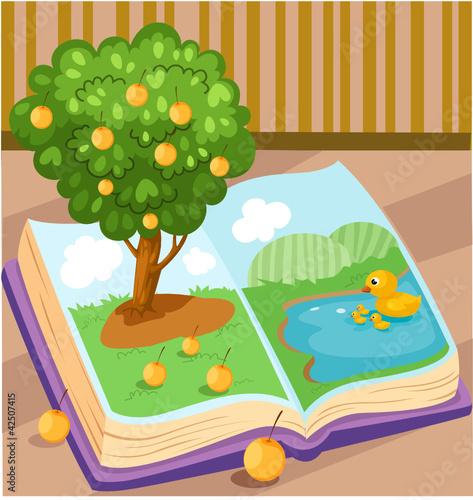 Poster Ranch orange tree