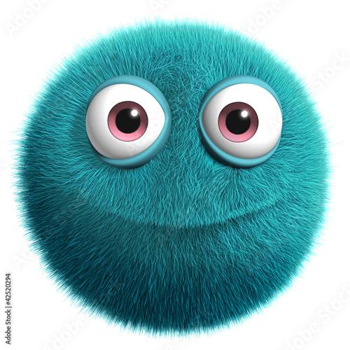 Foto op Aluminium Sweet Monsters blue alien