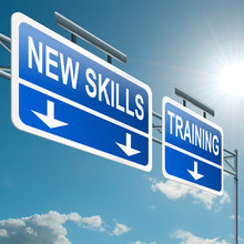 New Skills Concept.