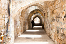 Sreet Of Jerusalem Old City Al...