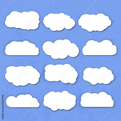 Poster Ciel clouds collection